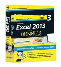 bokomslag Excel 2013 For Dummies, Book + DVD Bundle