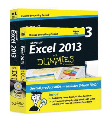 bokomslag Excel 2013 For Dummies, Book + DVD Bundle