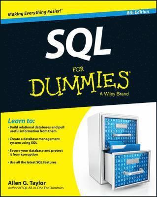 bokomslag SQL For Dummies, 8th Edition