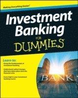 bokomslag Investment Banking For Dummies