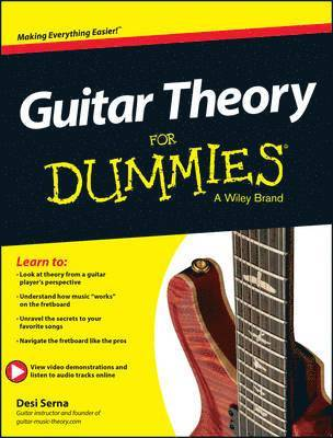 bokomslag Guitar Theory For Dummies