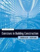 bokomslag Exercises in Building Construction