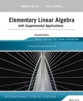 bokomslag Elementary Linear Algebra with Supplemental Applications, 11th Edition, Int