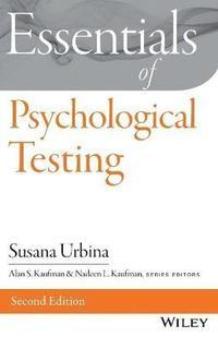 bokomslag Essentials of Psychological Testing