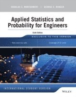 bokomslag Applied Statistics and Probability for Engineers