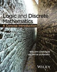 bokomslag Logic and Discrete Mathematics: A Concise Introduction