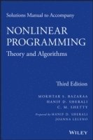 bokomslag Solutions Manual to accompany Nonlinear Programming