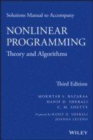 bokomslag Solutions Manual to accompany Nonlinear Programming
