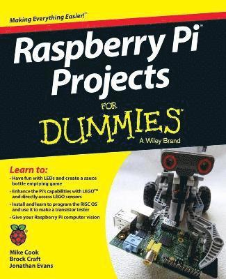 bokomslag Raspberry Pi Projects For Dummies
