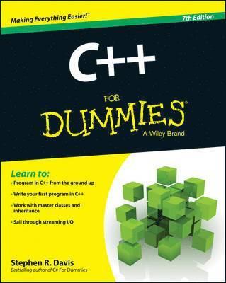bokomslag C++ For Dummies, 7th Edition