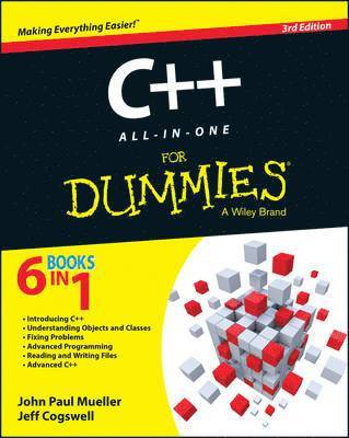 bokomslag C++ All-in-One For Dummies
