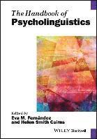 bokomslag The Handbook of Psycholinguistics