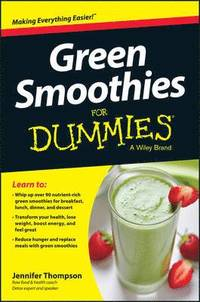 bokomslag Green Smoothies For Dummies
