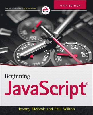 bokomslag Beginning JavaScript, 5th Edition