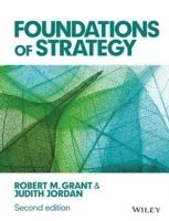 bokomslag Foundations of Strategy
