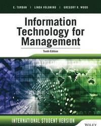 bokomslag Information Technology for Management