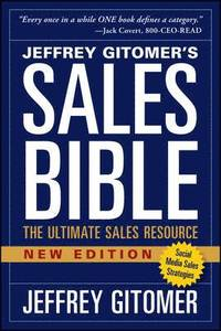 bokomslag The Sales Bible, New Edition: The Ultimate Sales Resource
