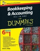bokomslag Bookkeeping and Accounting All-in-One For Dummies - UK