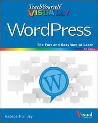 bokomslag Teach Yourself Visually Wordpress, 3E