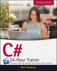 bokomslag C# 24-Hour Trainer, 2nd Edition