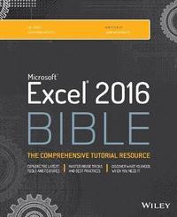 bokomslag Excel 2016 Bible