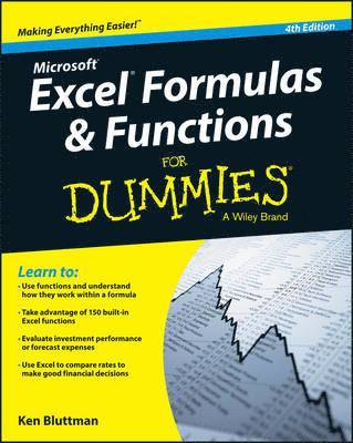 bokomslag Excel Formulas and Functions For Dummies