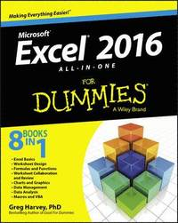bokomslag Excel 2016 All-In-One for Dummies