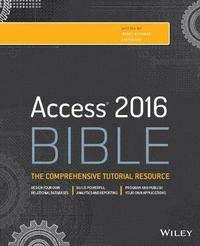 bokomslag Access 2016 Bible