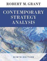 bokomslag Contemporary Strategy Analysis - Text Only