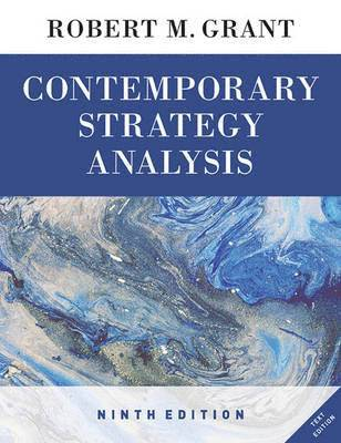 bokomslag Contemporary Strategy Analysis Text Only