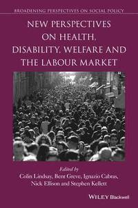 bokomslag New Perspectives on Health, Disability, Welfare and the Labour Market