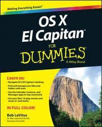 bokomslag OS X El Capitan for Dummies
