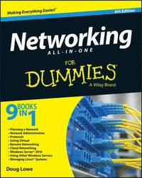 bokomslag Networking All-in-One For Dummies, 6th Edition