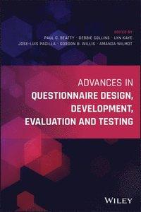 bokomslag Advances in Questionnaire Design, Development, Evaluation and Testing