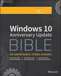 bokomslag Windows 10 Bible, Anniversary Update