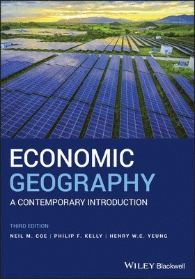 bokomslag Economic Geography: A Contemporary Introduction