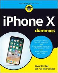 bokomslag iPhone X For Dummies