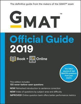 bokomslag GMAT Official Guide 2019: Book + Online