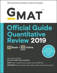 bokomslag GMAT Official Guide 2019 Quantitative Review: Book + Online: Book + Online (with Online Question Bank and Exclusive Video)