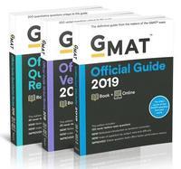 bokomslag GMAT Official Guide 2019 Bundle: Books + Online