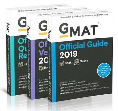 bokomslag GMAT Official Guide 2019 Bundle