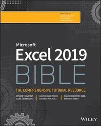 bokomslag Excel 2019 Bible