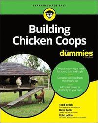 bokomslag Building Chicken Coops For Dummies