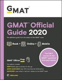bokomslag GMAT Official Guide 2020: Book + Online Question Bank