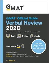 bokomslag GMAT Official Guide 2020 Verbal Review: Book + Online Question Bank