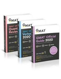 bokomslag GMAT Official Guide 2020 Bundle: 3 Books + Online Question Bank
