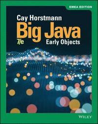 bokomslag Big Java: Early Objects