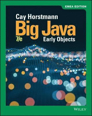 Big Java: Early Objects 1