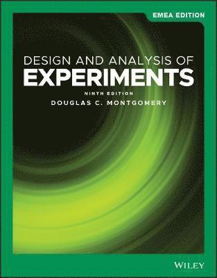 Design and Analysis of Experiments 1