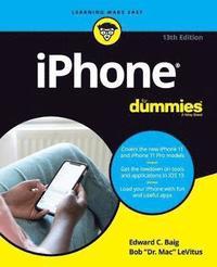 bokomslag iPhone For Dummies